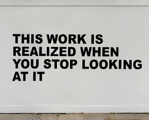 Stefan Brüggemann - This work is realized when you stop looking at it (2012)