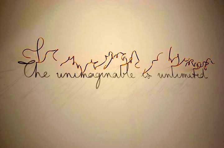 The unimaginable is unlimited - Fred Eerdekens