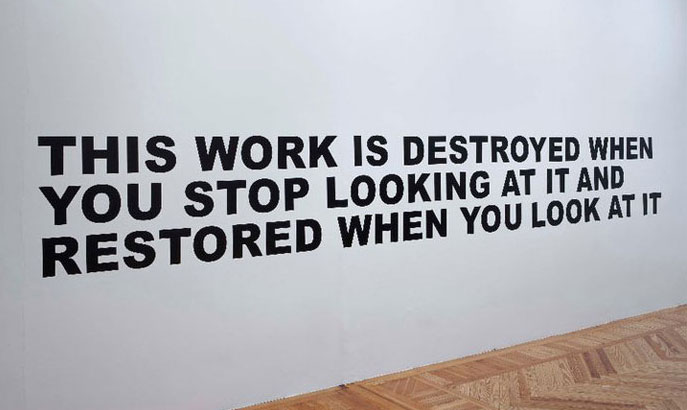 Stefan-Brüggemann-This work will be destroyed (2011)
