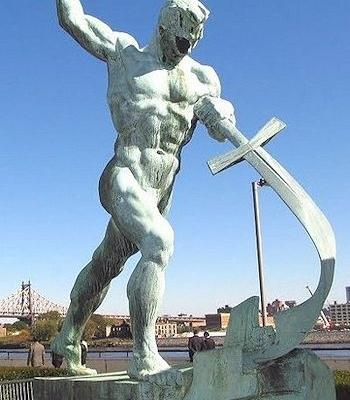 Van zwaarden tot ploegscharen - New York