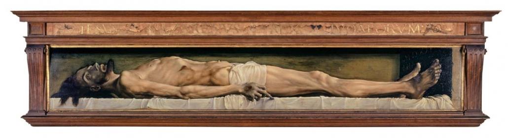 Hans Holbein d. J. - Dode Christus in het Graf (1521–1522)