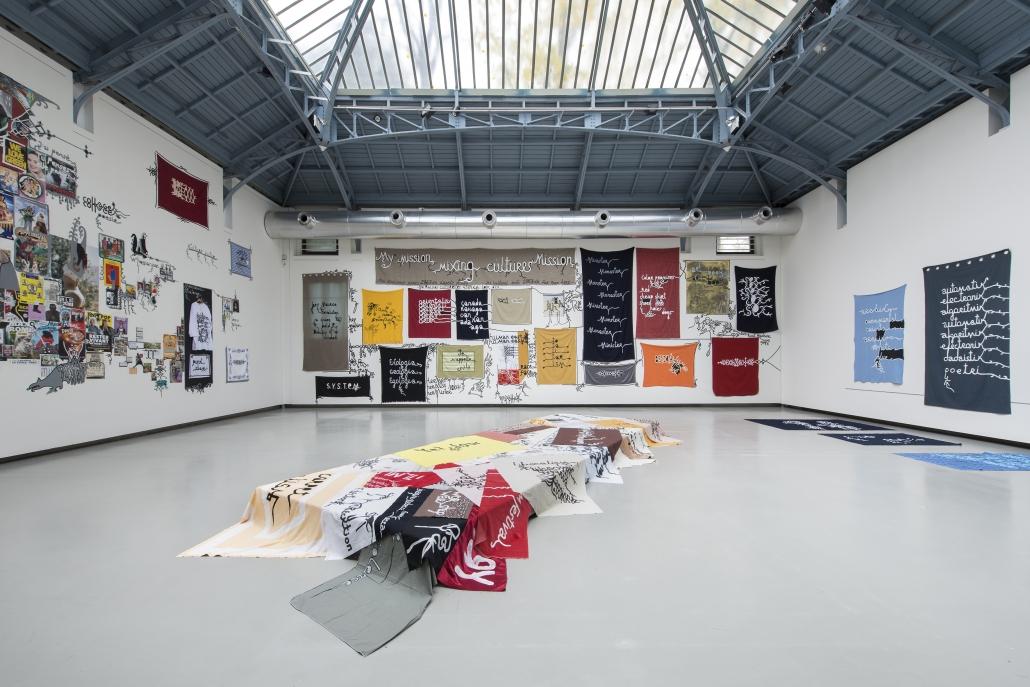 Babi Badalov - installatiezicht Soul Mobilisation (2) © Isabelle Arthuis Fondation d'entreprise Hermès