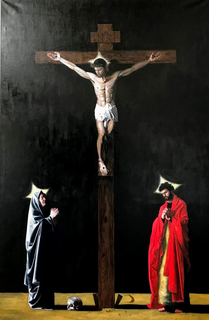 Jesse van Dun - The Crucifixion of Christ (2020)